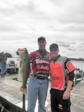 Marty Stone and Co-Angler Terrance Smith