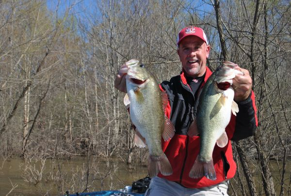 Former bass pro Marty Stone said it's time to fish shallow for largemouth across North Carolina's lakes. Dan Kibler